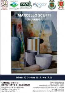 Marcello Scuffi espone al Borghetto di Bagnolo