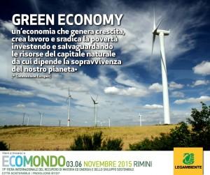 Green economy per ripartire