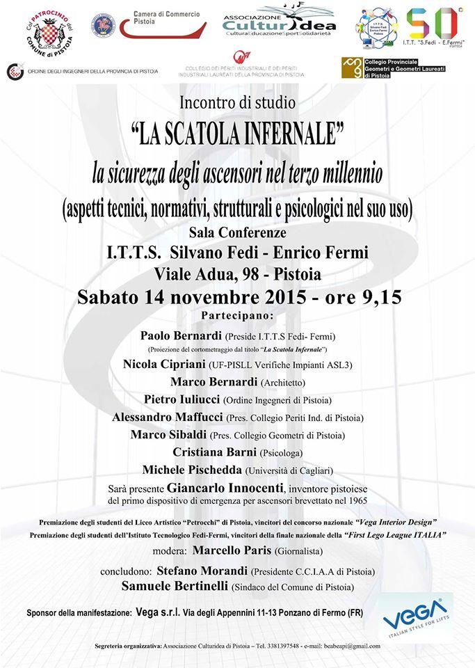 """""""LA SCATOLA INFERNALE"""", ASCENSORI & SICUREZZA"""