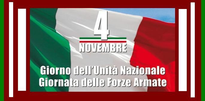 montemurlo. IL COMUNE CELEBRA LA FESTA DELL'UNITÀ D'ITALIA E GIORNATA DELLE FORZE ARMATE