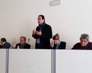 Al convegno era presente anche il Sen. Marcucci