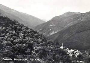 Campeda di Sambuca in una vecchia cartolina