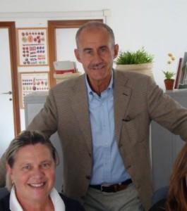 Il Direttore del Dip. Prevenzione Stefano Cantini, con la Dir. Paola Picciolli