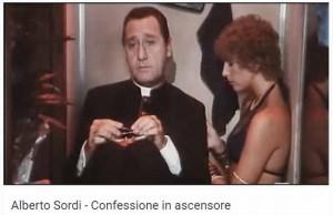 Alberto Sordi e Stefania Sandrelli: anche loro rimasero chiusi in ascensore...