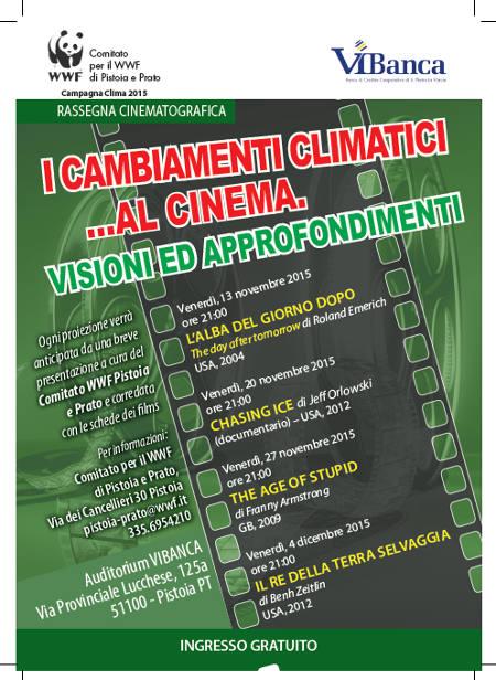 cinema & ambiente. LA RASSEGNA DEL WWF ALLA ViBANCA