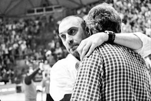 Esposito abbraccia Maltinti [foto Maestripieri]