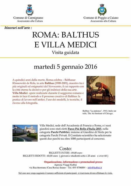 """""""BALTHUS"""" A ROMA, VISITA GUIDATA ALLA MOSTRA"""