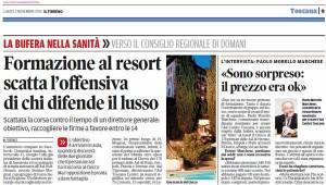 Il Tirreno, 2 novembre 2015