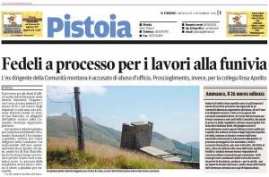 Il Tirreno, 4 novembre-Roberto Fedeli