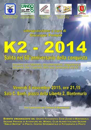 IL K2 NEL 60ESIMO ANNIVERSARIO DELLA CONQUISTA