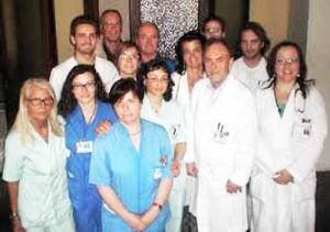 L'équipe del dottor Anichini