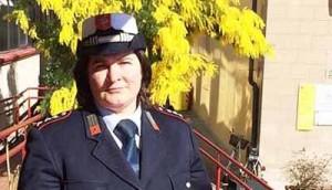 Lara Turelli, comandante dei vigili di Agliana