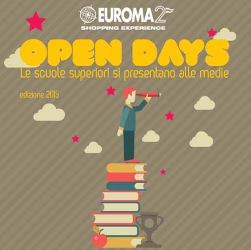 """ORIENTAMENTO SCOLASTICO: ARRIVANO GLI """"EUROMA2 OPEN DAYS"""""""