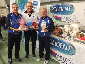 Claudio Mazzei premia i quarti classificati