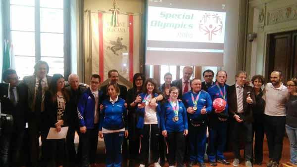 SPECIAL OLYMPICS: PREMIAZIONI IN REGIONE