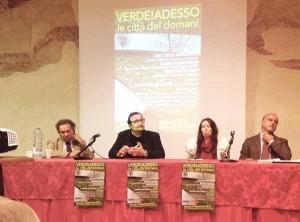 Verde a Pistoia. Il tavolo. Gualtierotti, Mati, Belliti, Degli Innocenti
