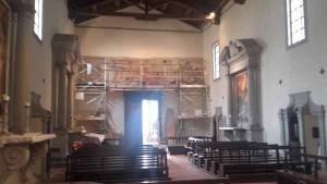 E saranno presentati i restauri degli affreschi