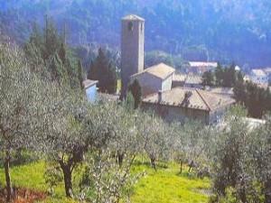San Baronto, vista sull'ex monastero