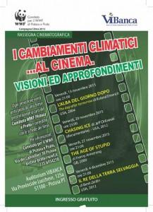 locandina WWF CINEMA 2015