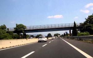Un ponte sulla Firenze-Mare