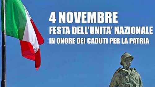 4 novembre. NON SIAMO MAI STATI ITALIA