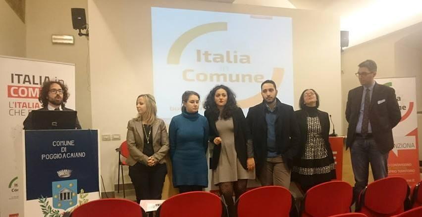 """poggio a caiano. """"ITALIA IN COMUNE"""" A #ILPAESECHECIPIACE"""