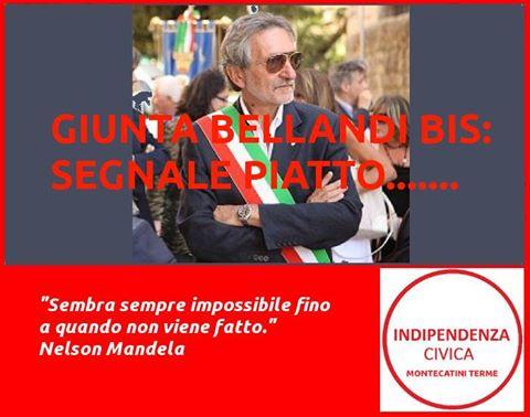 la polemica. «GIUNTA BELLANDI BIS, SEGNALE PIATTO…»