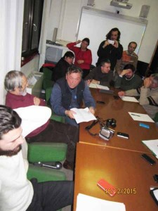 Ciottoli consegna le domande scritte al Presidente Franceschi, ma non avrà risposte