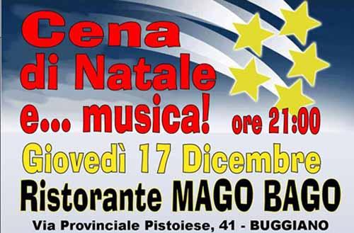 CENA DI NATALE DEL MOVIMENTO 5 STELLE