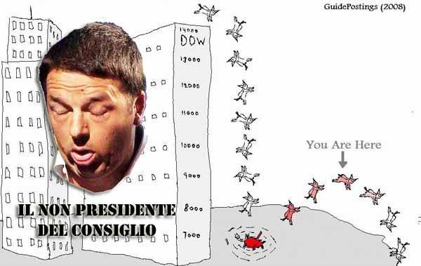 """economia & banche. L'ITALIA DI RENZI? UN """"RIMBALZO DEL GATTO MORTO"""""""