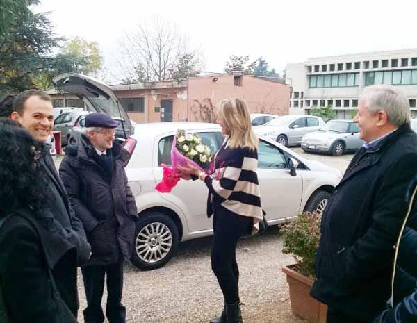 L'ASSESSORE REGIONALE GRIECO VISITA LE SCUOLE DI PISTOIA