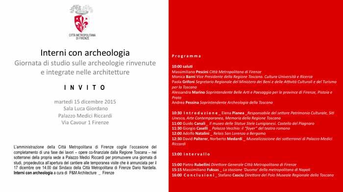INTERNI CON ARCHEOLOGIA