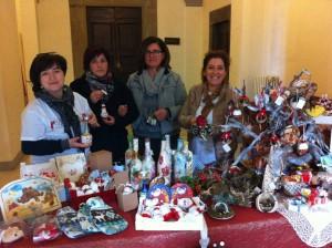 Volontarie del mercatino Caritas santomato