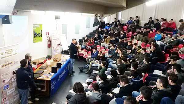 INCONTRO AL PACINOTTI SULL'EDUCAZIONE STRADALE