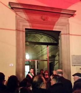 L'inaugurazione del Museo del Ceppo
