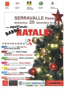 L'evento del 20 dicembre a Serravalle