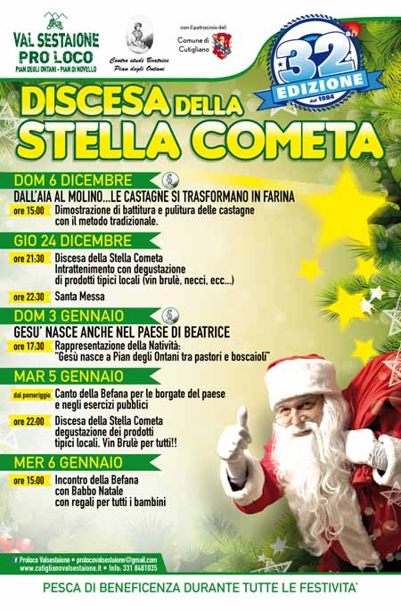 IN VAL SESTAIONE A NATALE