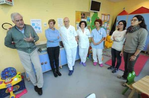 Ospedale San Jacopo Inaugurazione nuova sala ABIO