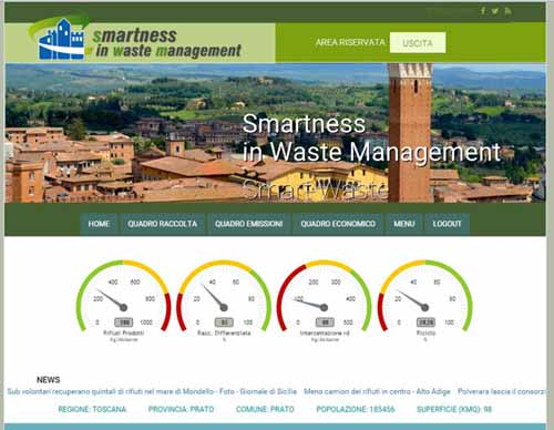 "A PISTOIA ""SMARTNESS IN WASTE MANAGEMENT"""