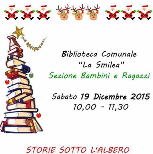 """STORIE SOTTO L'ALBERO"" IN BIBLIOTECA"