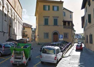 Via San Pietro a Pistoia