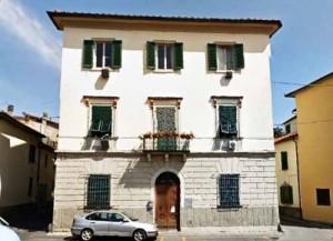 Villa Benti in piazza San l.orenzo a Pistoia