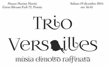 TROMBA, CAMPANACCIO E CLARINETTO: IL TRIO VERSAILLES