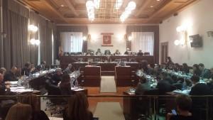 La seduta del consiglio regionale