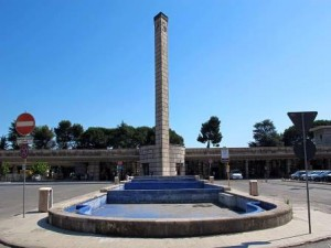 La fontana di piazza Italia
