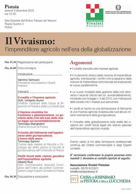 vivaismo. L'IMPRENDITORE AGRICOLO NELL'ÈRA DELLA GLOBALIZZAZIONE