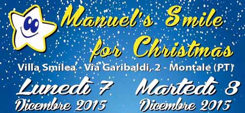 """MANUEL'S SMILE FOR CHRISTMAS"" ALLA SMILEA"