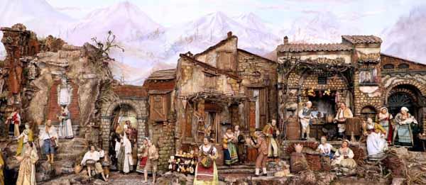 I PRESEPI DI FERRIGNO, ARTE DAL 1836
