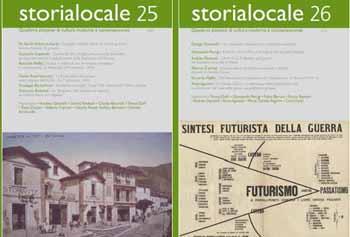 """""""STORIALOCALE"""" PRESENTA I NUMERI MONOGRAFICI"""