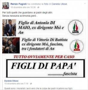 """Il post che impazza su facebook dei grillini """"fascisti"""""""